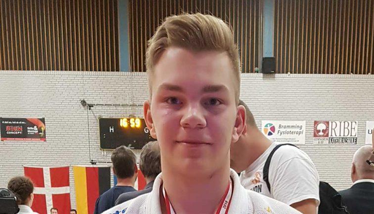 Guld till Kevin i Danmark