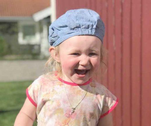 Olivia Svensson 2 år