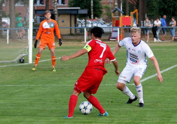 Fyra lokala lag i fotbollsfyran