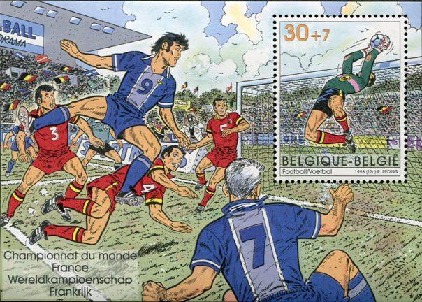 Belgien hyllade Frankrike