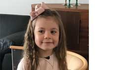 Alicia Larsson 6 år