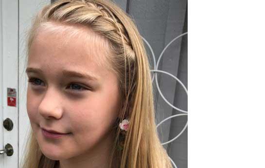 Emmy Fransson 9 år