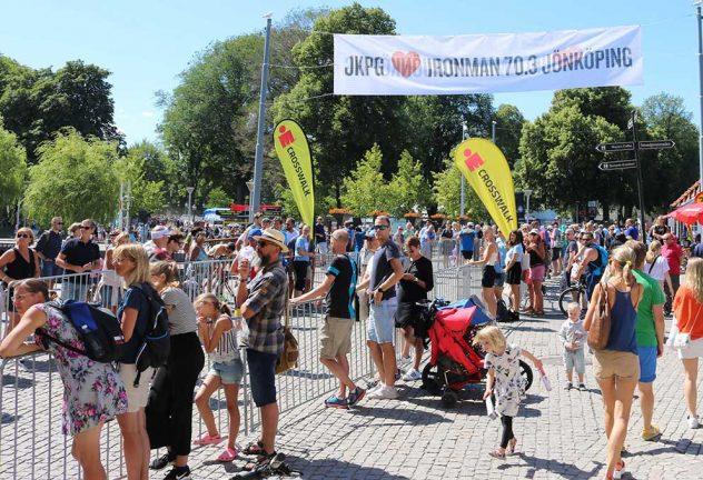Ingen Ironman i Jönköping