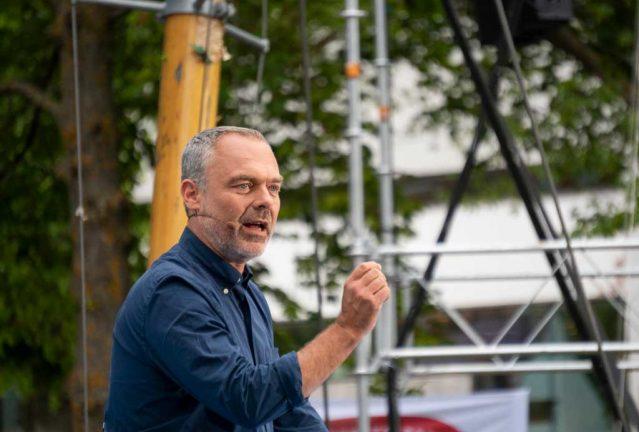Jan Björklund talade i Almedalen