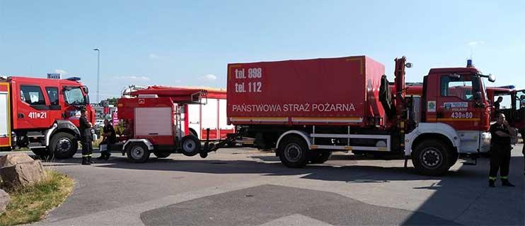 TV: Polska brandmän på väg