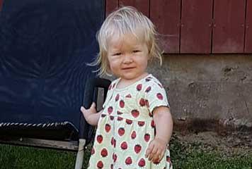 Astrid Sandberg 1 år