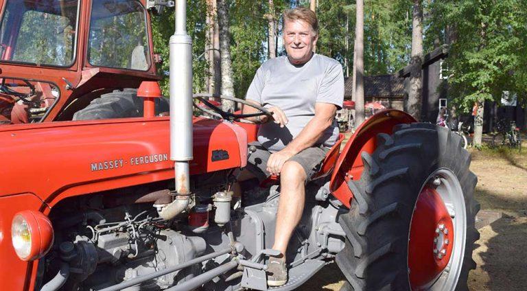 Tog traktorn till träffen