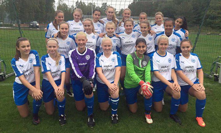 IFK-tjejer är seriesegrare
