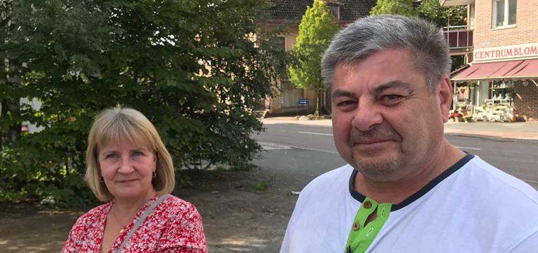 Jeanette och Karl – nyförlovade