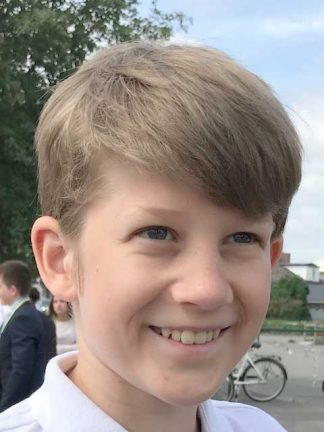 William Robertsson Holm 14 år