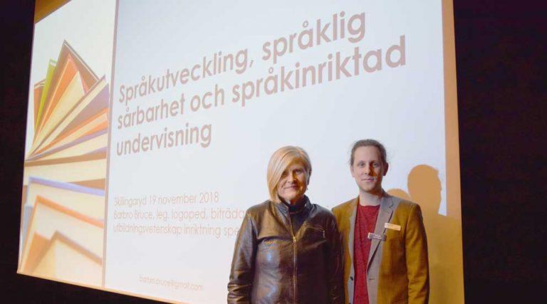 Språkexperter träffade pedagoger
