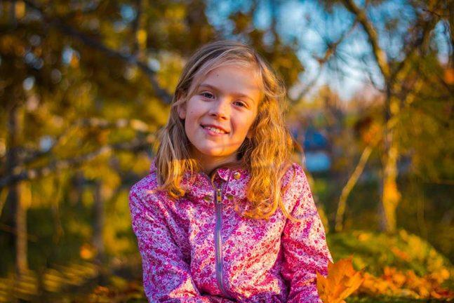 Tuva Emanuelsson 9 år
