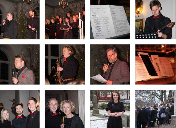 28 bilder: Julkonserter fyllde kyrkan