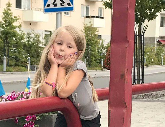 Nowalie Hallqvist Lembke 5 år