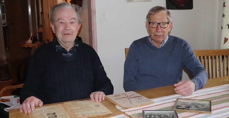 P-O och Karl-Olof minns 1948…