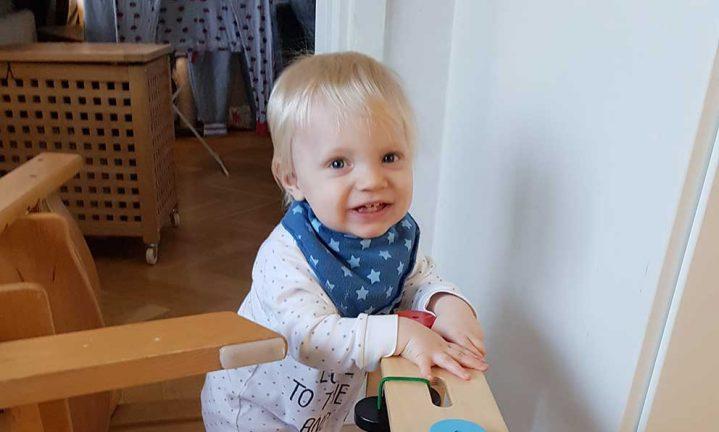 Wiggo Kjell 1 år
