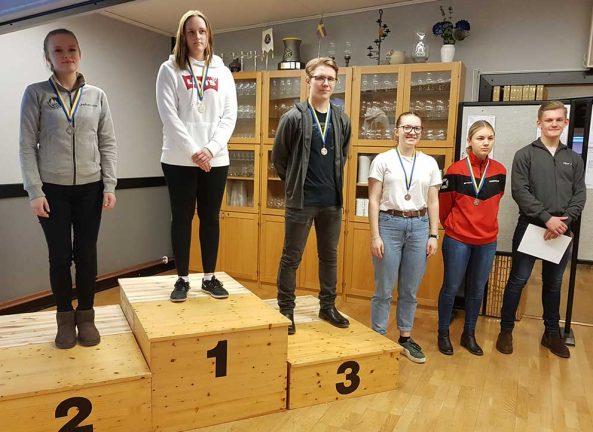 Sex gick vidare till Skyttiadens regionfinal