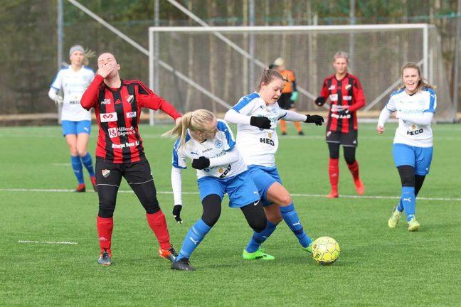 IFK-damerna vann med 5–1