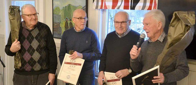 Diplomerades för 60-årigt medlemskap