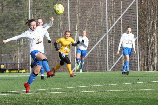 Storförlust för IFK-damerna