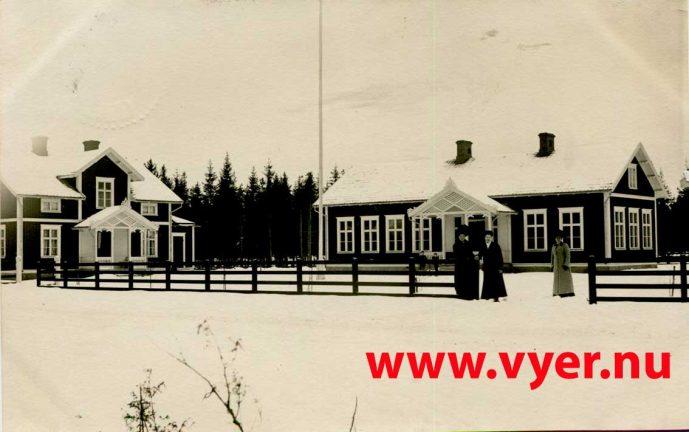 Vy: Götafors skola 1912