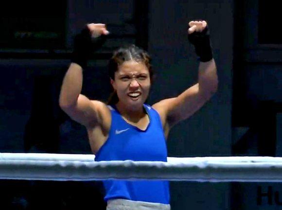 Solklar seger för Agnes i dagens kvartsfinal
