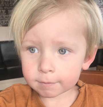 Charlie Ahlqvist 3 år