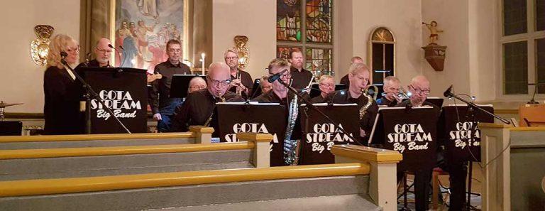 Svängig konsert i kyrkan