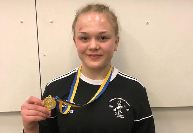 JSM-guld till Nora Svensson