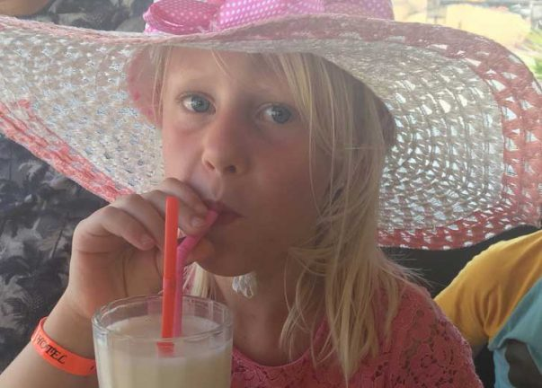 Oliwia Stjernqvist 7 år