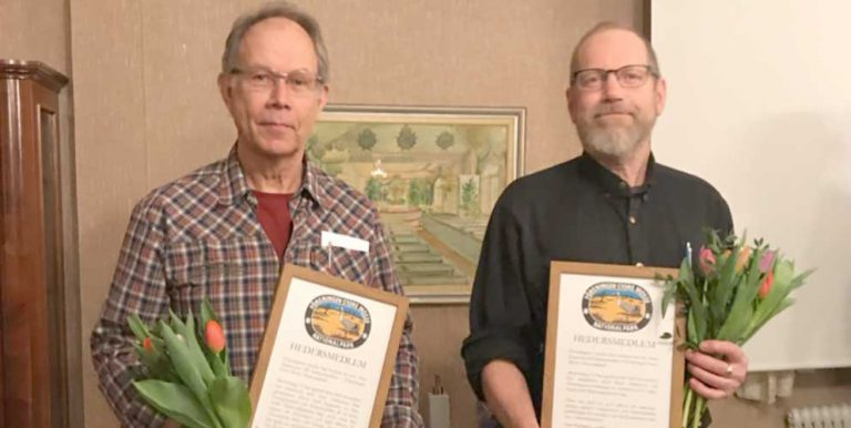 Arne och Hans blev hedersmedlemmar