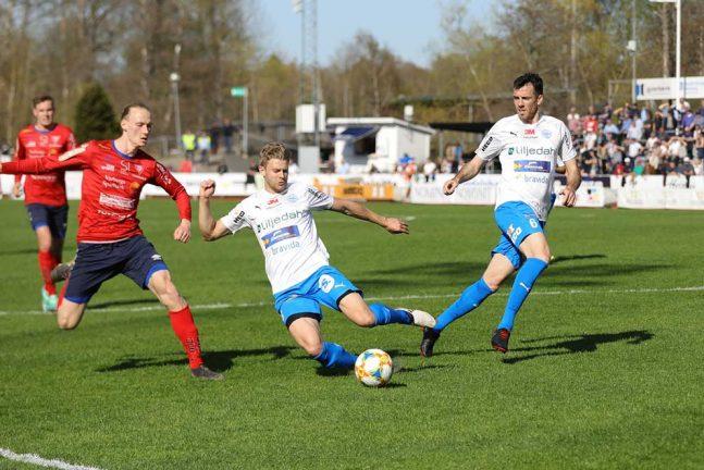 En poäng för IFK med en man kort