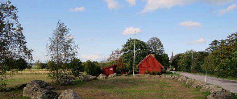 Bålastugan och Munkakyrkan i Årstad