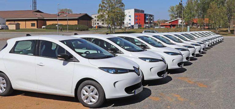 Vaggeryds kommunala elbilspark: Topp tre i landet