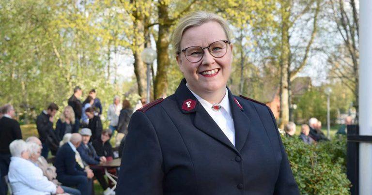 Therese vårtalade på Fridhäll