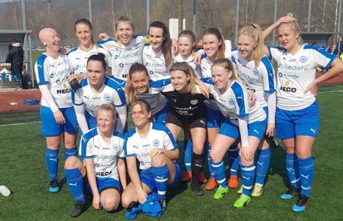 IFK vann mot lag från ettan