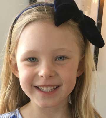 Kajsa Ahlqvist 6 år