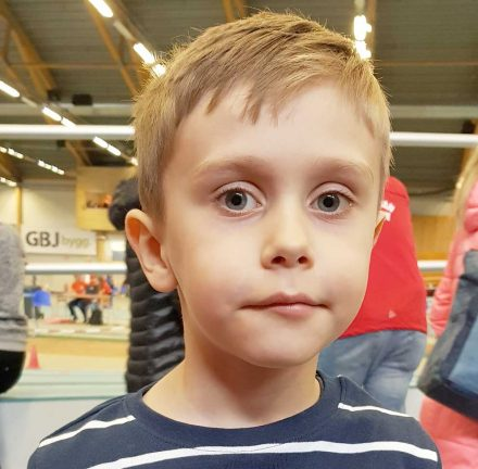 Max Sandin 6 år