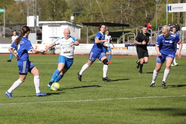 Bilspel: IFK damerna vann med 8–0