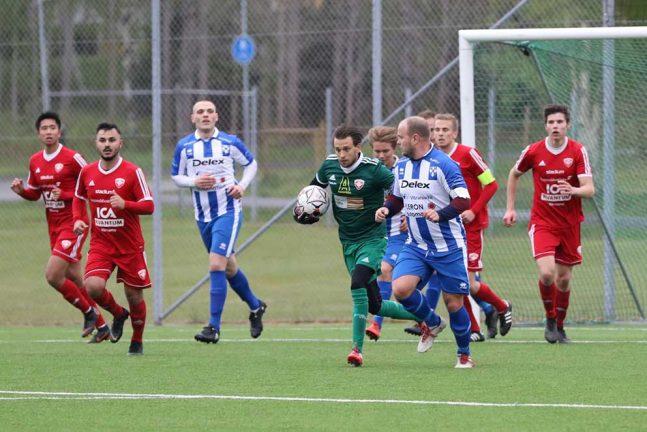 V-Södra vann med 4–0 mot Forsheda