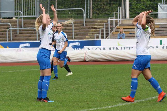Bildspel: 4–0 för IFK-damerna mot Osby