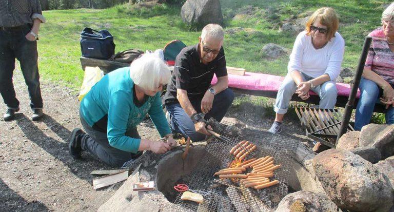 SPF arrangerade grill- och gökafton