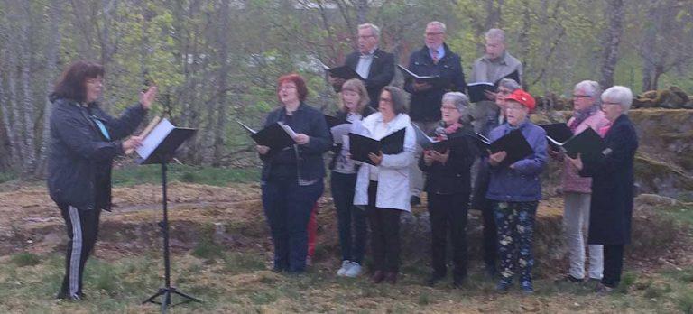Valborg firades i Hagshult