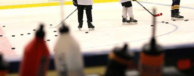 Ishockeyn läggs på is till januari