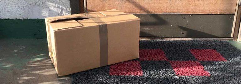 Stopp för post och paket