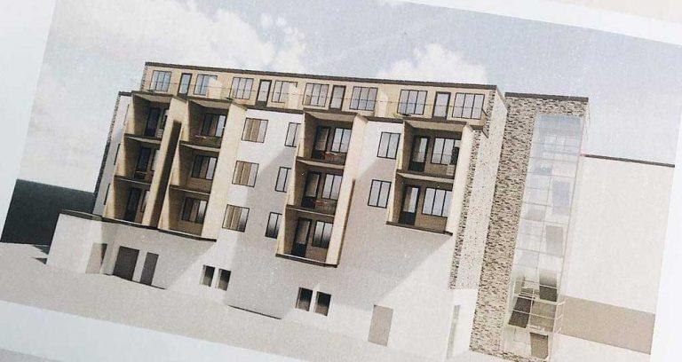 Nya lägenheter byggs på höjden