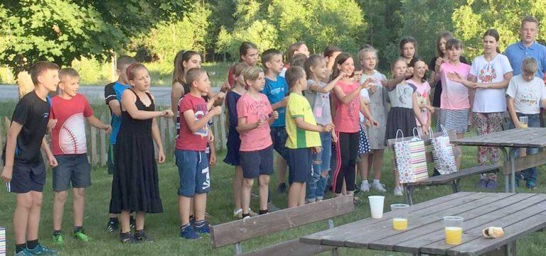 Tjernobylbarnen besöker Hagshult