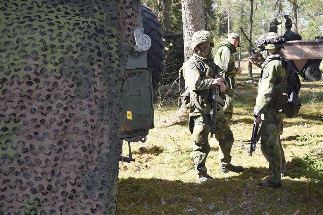 Stor militärövning flyttas fram