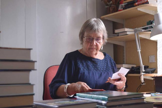 Lilli-Ann Bertilsson 80 år