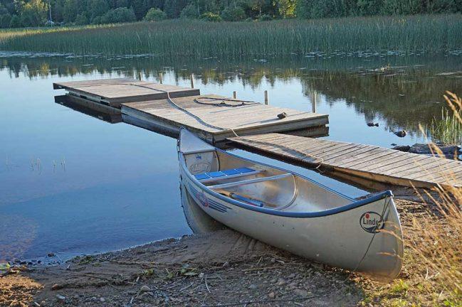 Nya hus vid Linnesjön